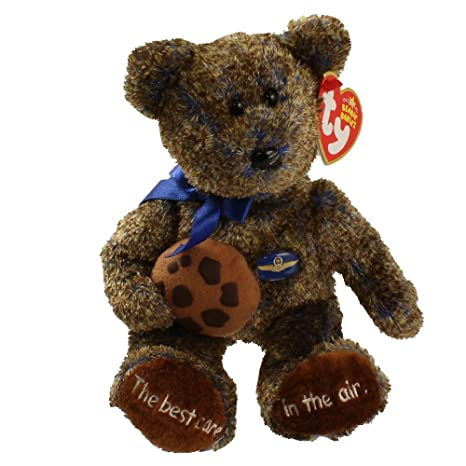 9430f017046 Buy TY Beanie Baby - CHOCOLATE CHIP the Bear (Midwest Airlines Exclusive)  Online at Low Prices in India - Amazon.in