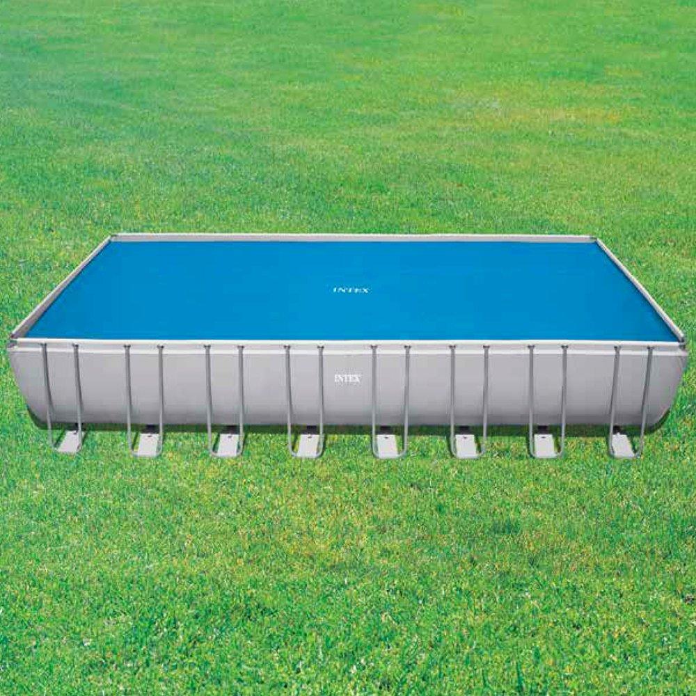 Intex 29030 - Cobertor solar para piscinas rectangulares de 975 x 488 cm: Amazon.es: Jardín