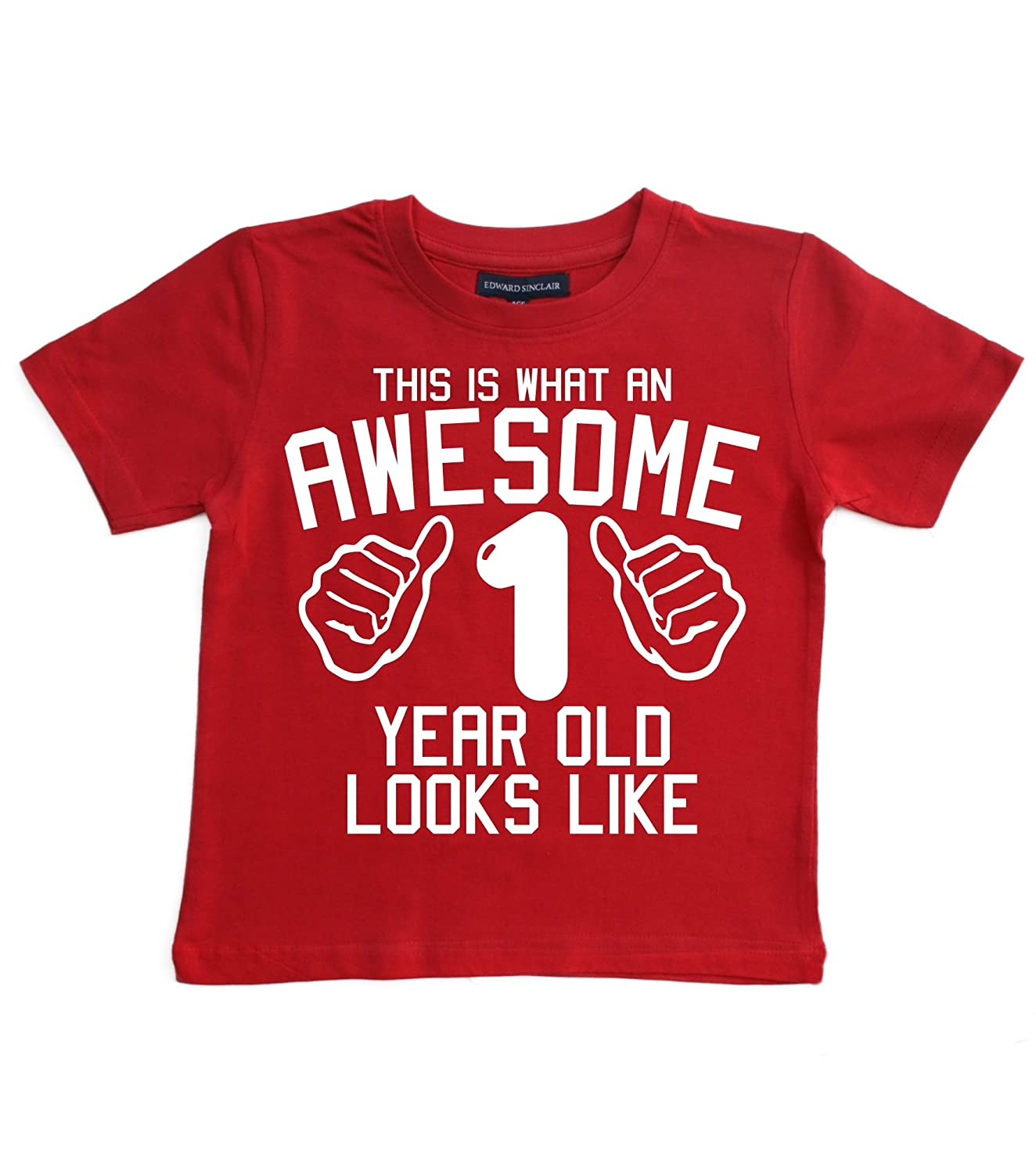 Edward Sinclair Baby Boys This What an Awesome Looks Like T-Shirt
