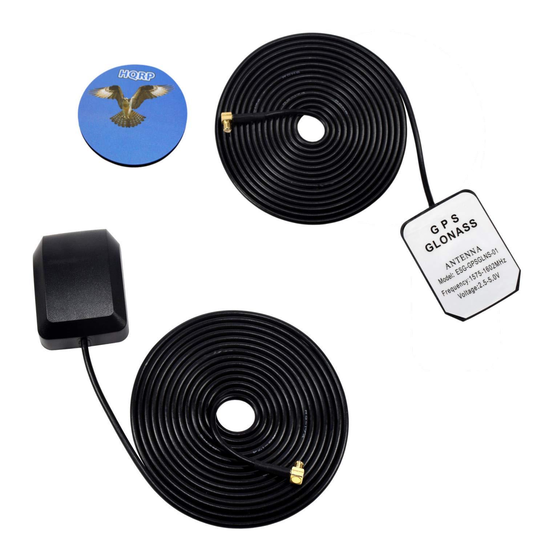 HQRP 2-Pack amplificada externo GPS de antena para Garmin ...