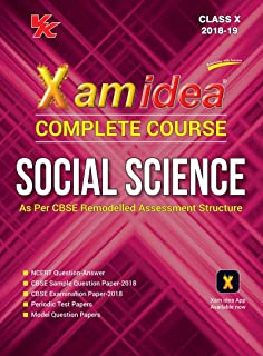 All In One Social Science - Class 10 2018-19 Session: Amazon