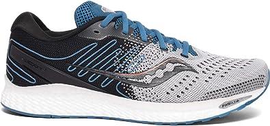 Saucony Freedom 03 Zapatilla para Correr en Carretera o Camino de Tierra Ligero con Soporte Neutral para Hombre Gris Azul: Amazon.es: Zapatos y complementos