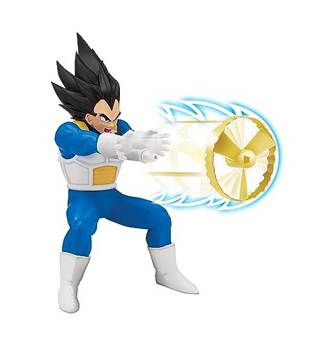Giochi Preziosi- Dragon Ball Super, Personaggio 18 cm Deluxe con Funzione, Vegeta, DRU03200