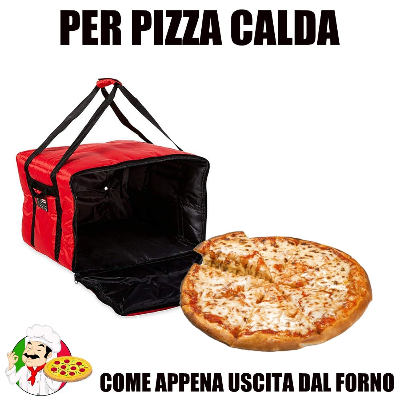 Bolsa térmica para Transportar Pizzas y Pizzas, Nevera para ...