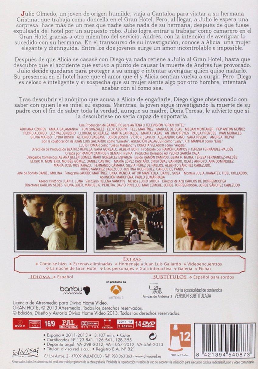 Gran Hotel - Serie Completa [DVD]: Amazon.es: Amaia Salamanca ...