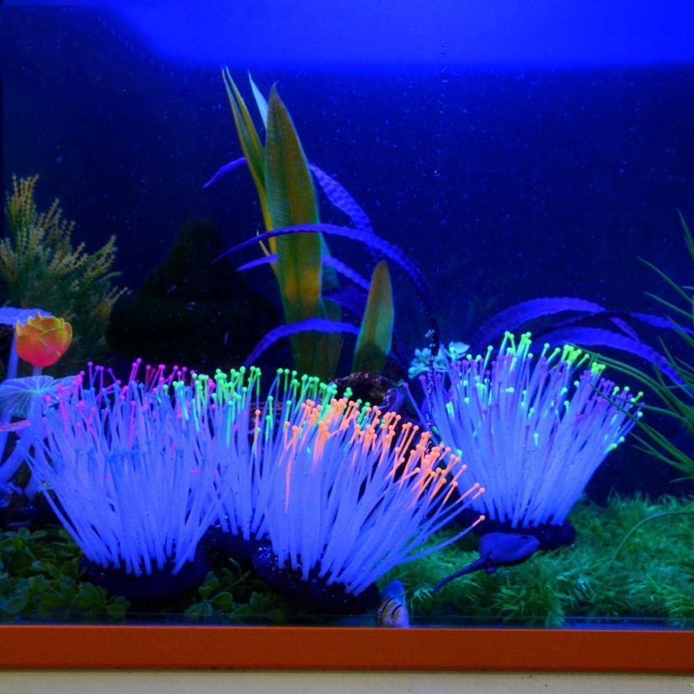 Saim Glowing Artificial Coral Plant Aquarium Decor Fish Tank Decorations