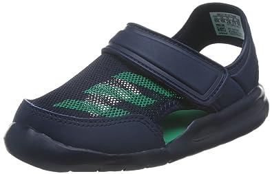 sports shoes 172d9 94b0b adidas FortaSwim C BA9380000 Unisex-adult Sports Shoe, Blue 28 EU