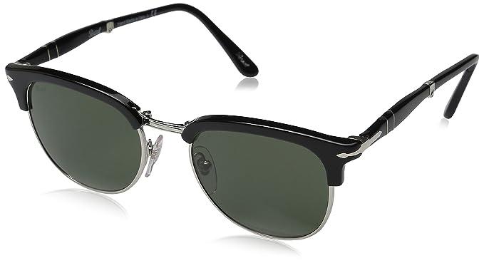 Persol 95/4N Gafas de sol, Wrap, Polarizadas, 51, Black: Amazon.es: Ropa y accesorios