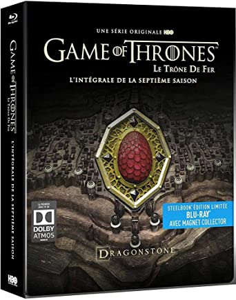 Amazon Com Game Of Thrones Le Trone De Fer Saison 7 Edition Limitee Steelbook Blu Ray Hbo Bluray Movies Tv