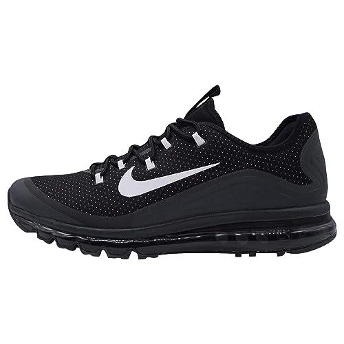 d9d800f2f8 Nike Sportswear AIR Max More Men's Sneakers Black, Shoe Size:47.5:  Amazon.co.uk: Shoes & Bags
