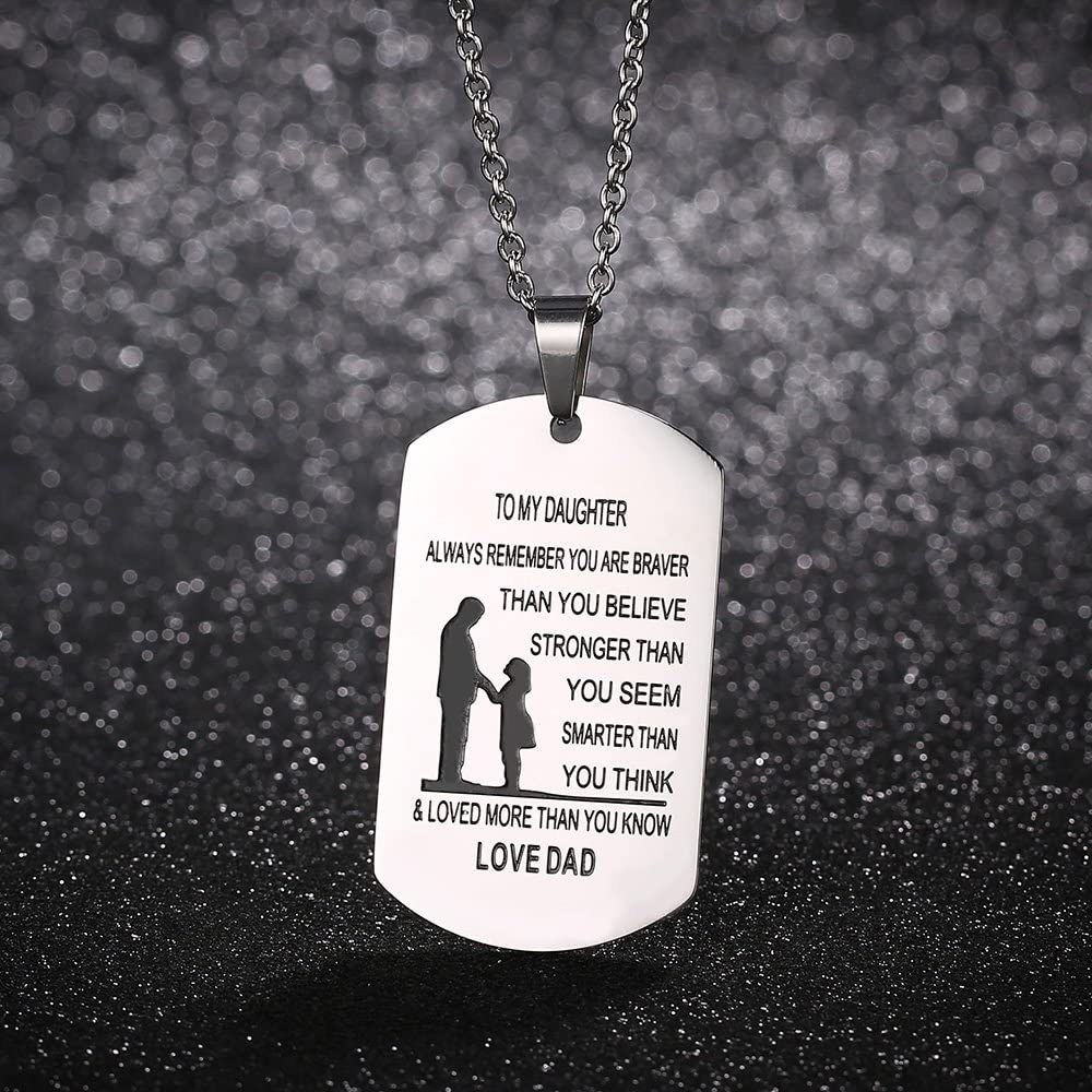 Always Remember You Are Braver Than You Believe Hot Jewelry Pendant Necklace ZP