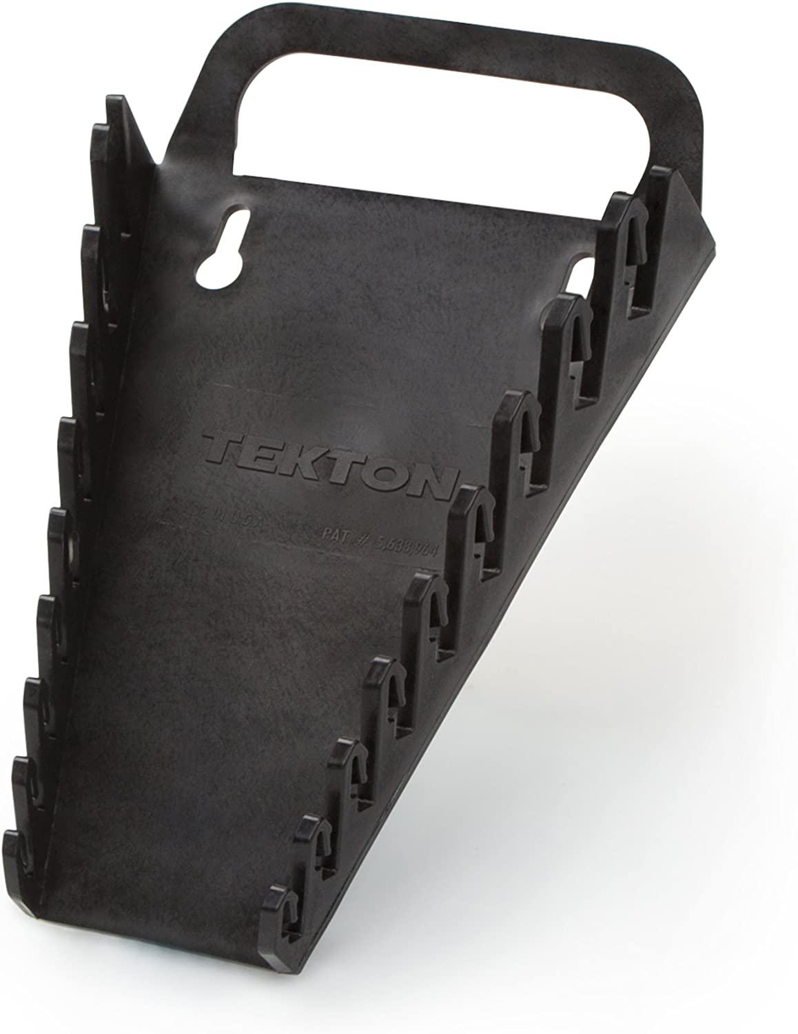 Black TEKTON 79345 9-Tool Store and Go Wrench Keeper