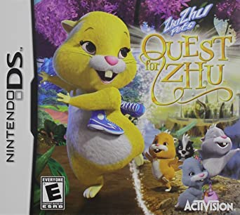 Amazon Com Zhu Zhu Pets Quest For Zhu Nintendo Ds Activision Inc Video Games