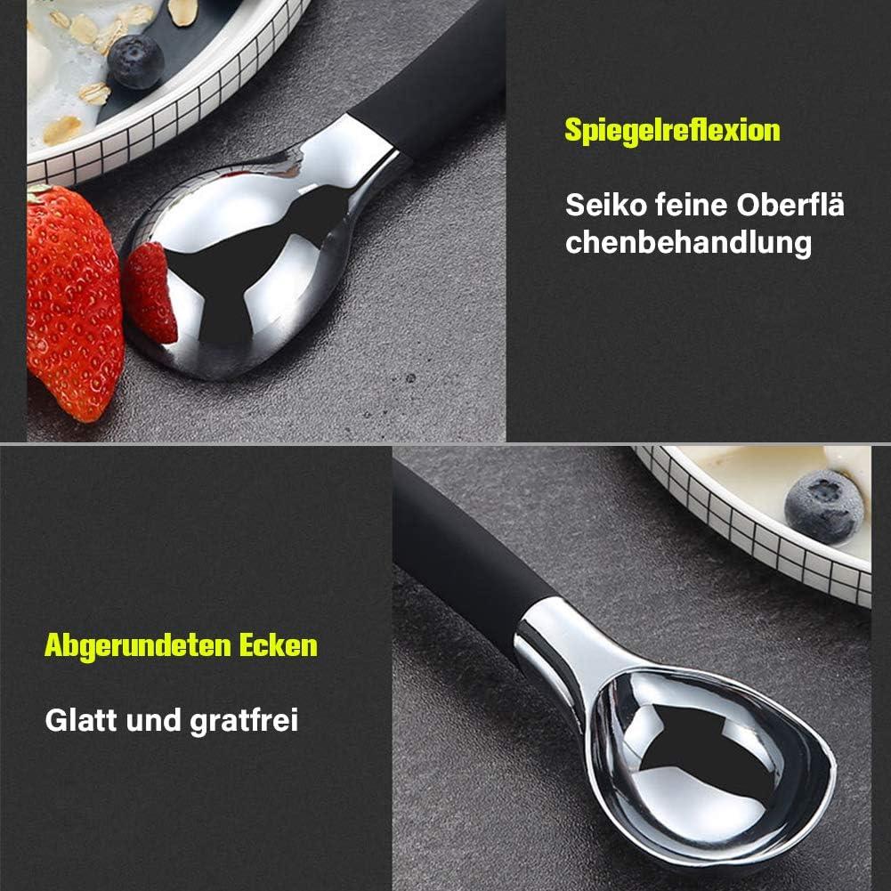 Melonenkugel Eisl/öffel Portionierer SUI-lim Eisportionierer Kuchen Teig Aus Zink-Legierung f/ür Eiscreme Fleischkl/ö/ßchen