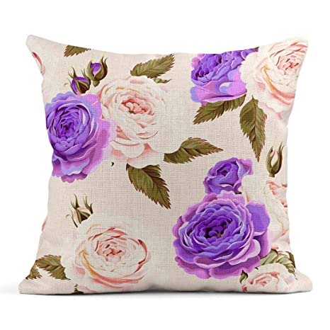 Cojín Rosa Antiguo Inglés Rosas Belleza Brote Floral Flor ...