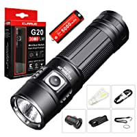 Klarus G20 CREE Rechargeable Flashlight