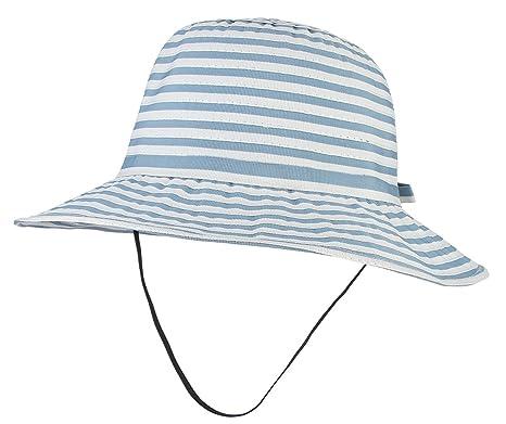 8407cc1efc9 GEMVIE Chapeau Bob Enfant Mixte 6-8 Ans Chapeau De Pêche avec Mentonnière  Eté Plage