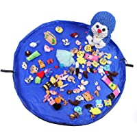 Gobesty Bolsa de Almacenamiento de Juguetes para niños, Gran Capacidad, Bolsa ordenada de Juguetes, Bolsa de Alfombra de…
