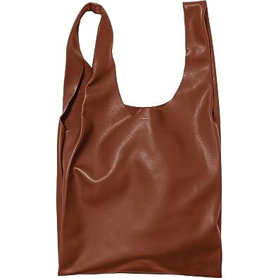 Baggu Leder Tasche, Molasse: : Schuhe & Handtaschen