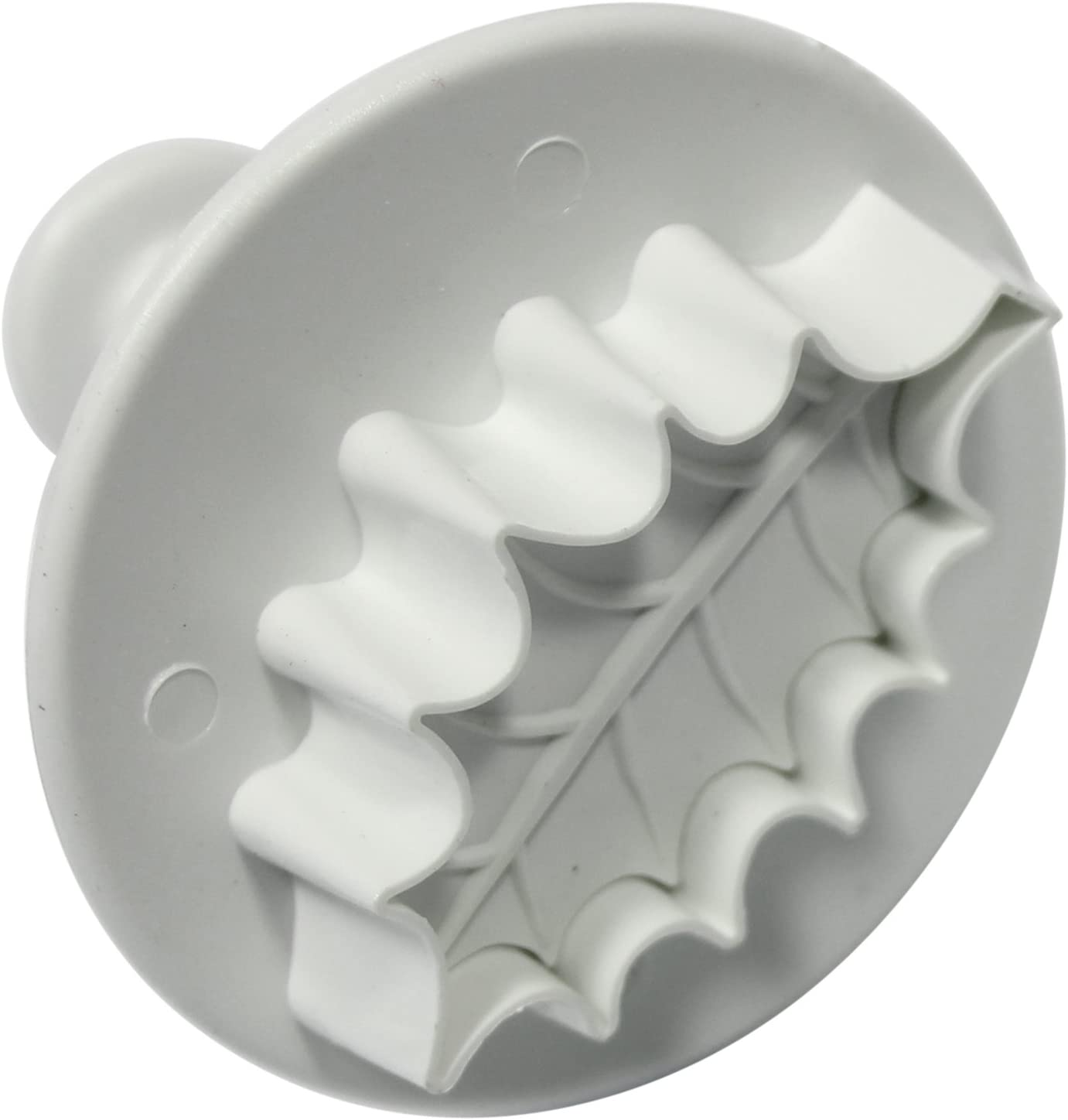 Medium PME Veined Holly Leaf Plunger Cutters Small Large Sizes Set of 3
