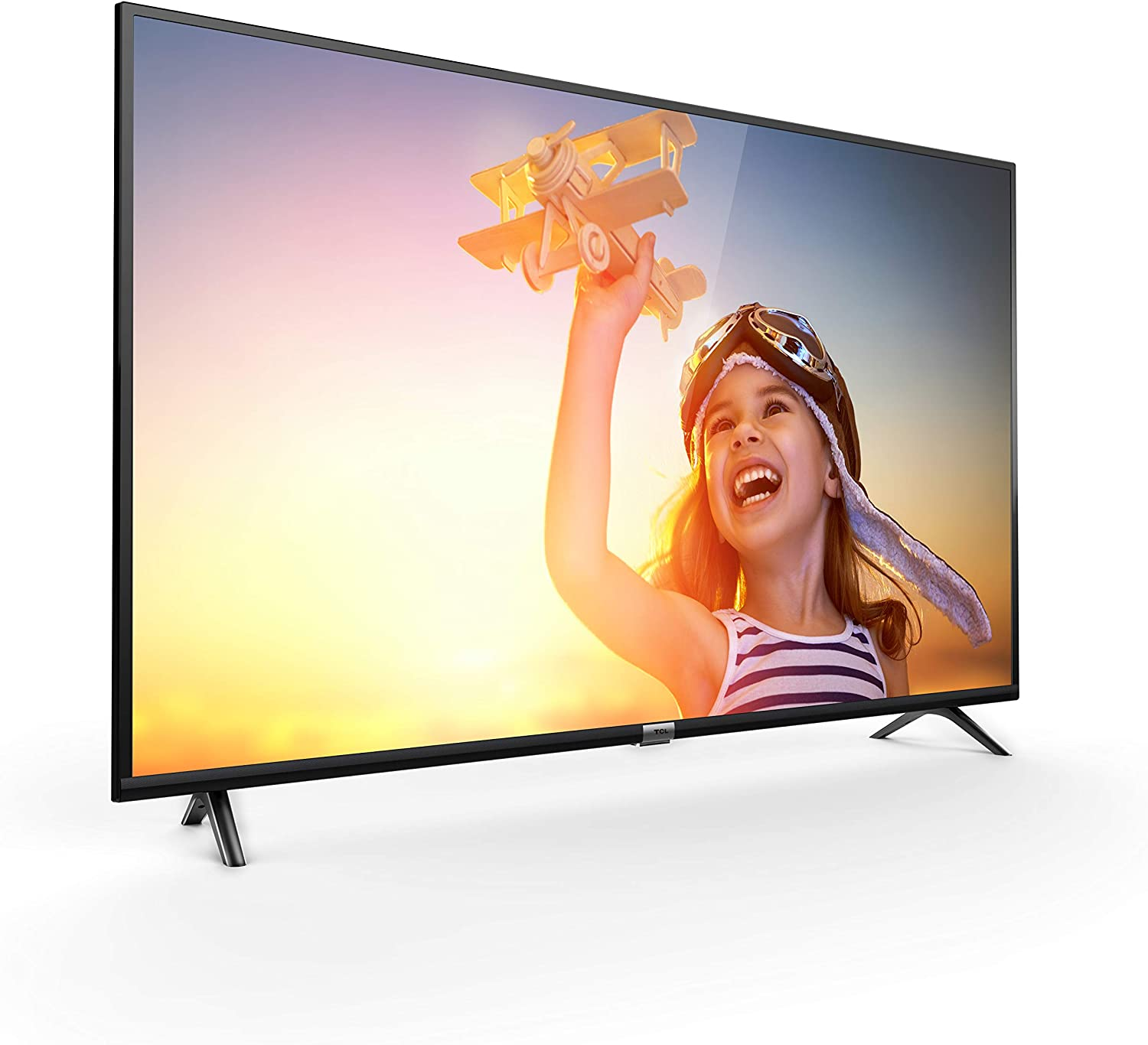 TCL 50DP602 Televisor de 50 pulgadas, Smart TV con UHD 4K, HDR, Dolby Digital Plus, T-Cast y sintonizador Triple, Color Negro: Amazon.es: Electrónica