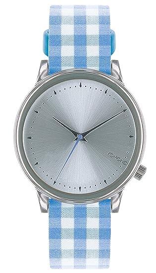 Komono Reloj de mujer analógico cuarzo piel Azul kom-w2854
