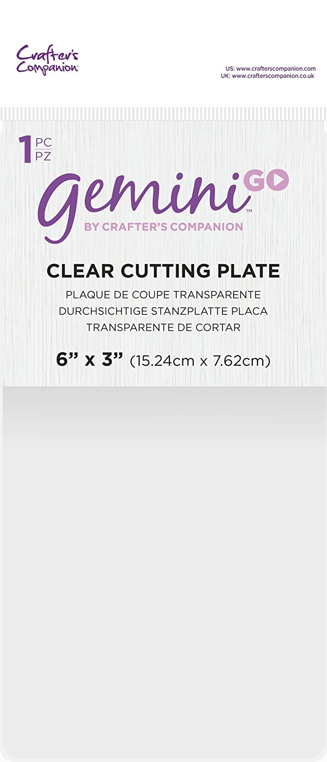 Gemini Cutting Plate, 3 x 6-Inch Crafter's Companion GEMGO-ACC-CLEP