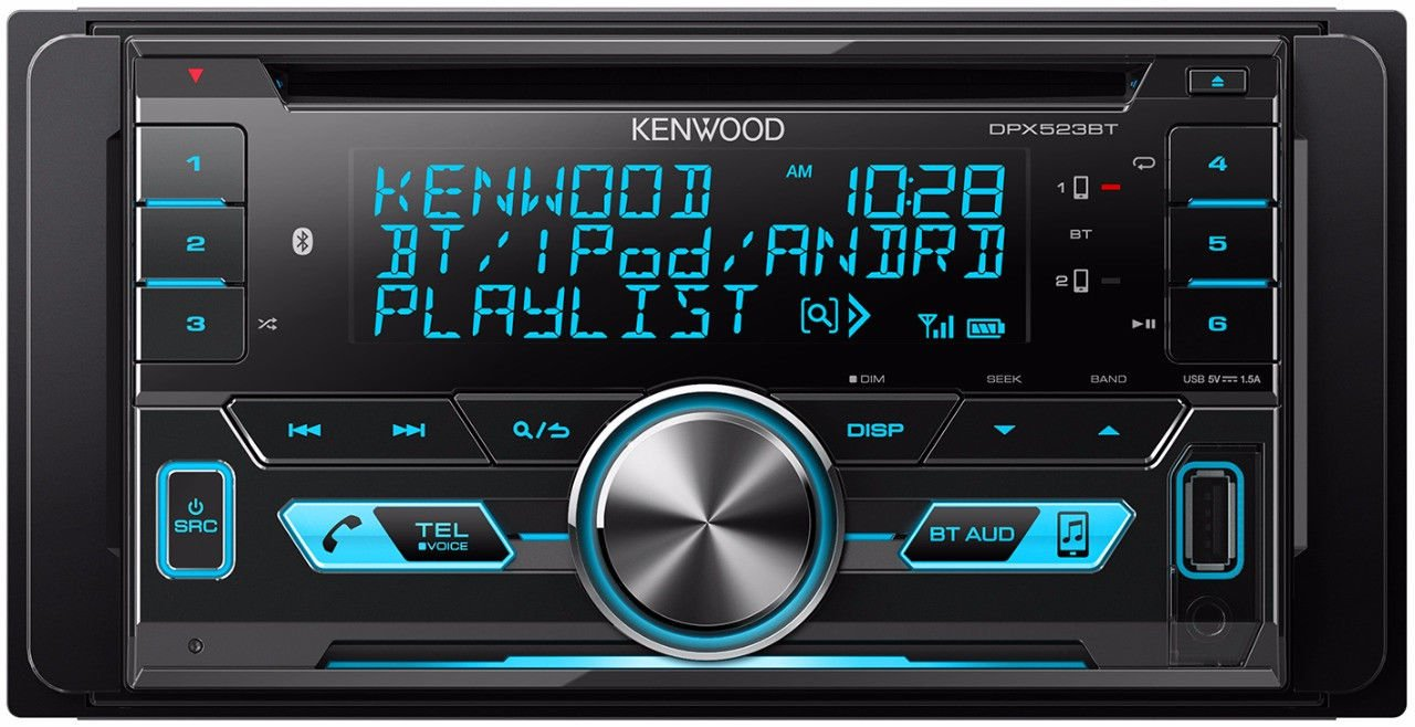 KENWOOD DPX523BTDouble Din