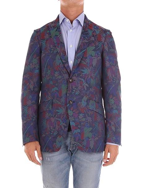 new arrival 47456 46f81 Etro Blazer Uomo 1J8206744200 Cotone: Amazon.it: Abbigliamento