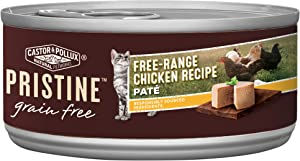 Castor & Pollux Pristine Wild-Caught or Free-Range Protein Wet Cat Food, 24 count case