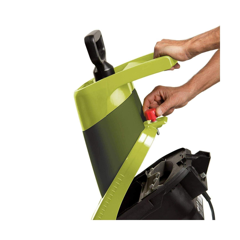 Green CJ602E Electric Gden Wood Leaf Waste Chipper Shredder Mulcher