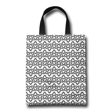 Bolsa de playa bolsas de cuero patrón opcional: Amazon.es: Hogar