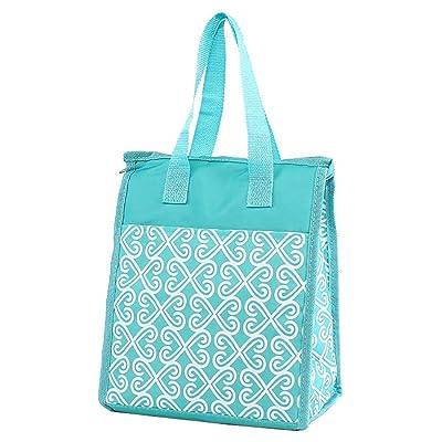 9 x 10.5 x 6 Fashion Print Lunch Tote Bag