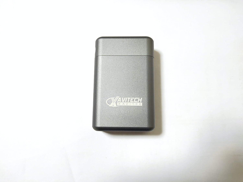 Car Key Signal Blocker Box with Magnets Aluminium RFID Car Key Box,Anti-Theft Faraday Box for Car Keys. XAVITECH