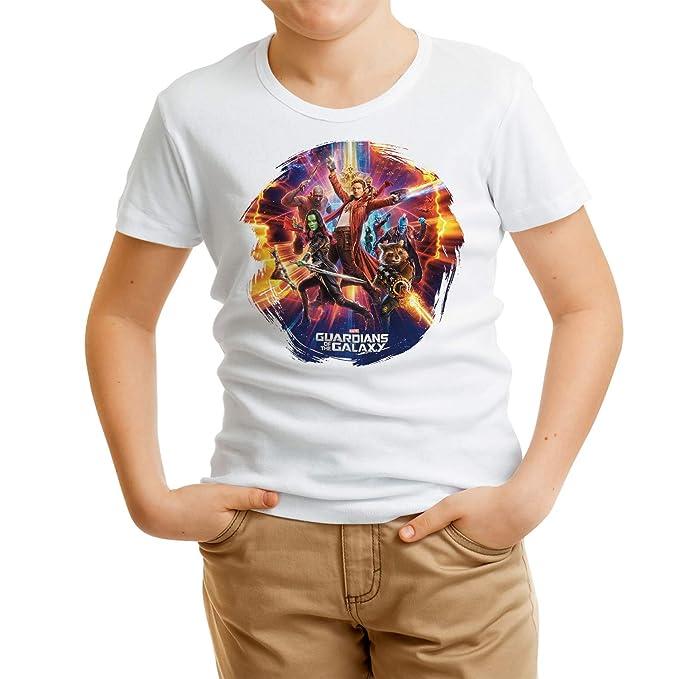 d260d4565 DibuNaif Camiseta Niño Superhéroes