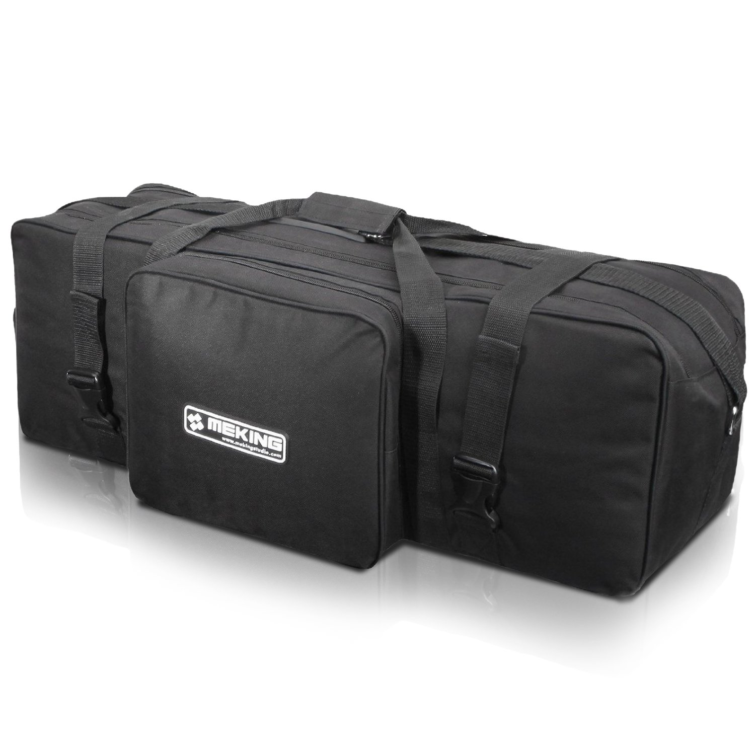 Selens Black Large Portable Photography Equipment Zipper Bag with Pocket for Light Stands, Umbrellas, Tripods and Studio Accessories
