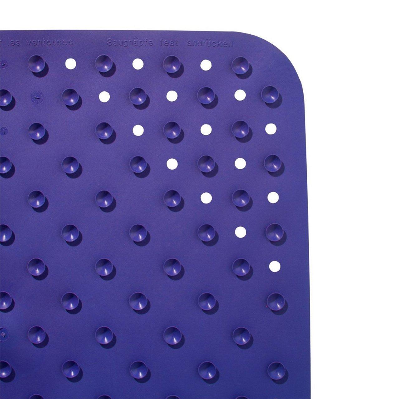 SANIMIX Wanneneinlage 72 x 38cm Farbe Wannenmatte Sicherheitseinlage f/ür die Badewanne LITTLE FEETS Gr/ö/ße Grau