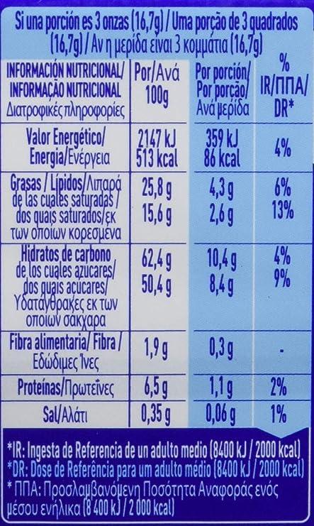 NESTLÉ CRUNCH Chocolate con Leche con Cereales - Tableta de Chocolate 100g: Amazon.es: Amazon Pantry
