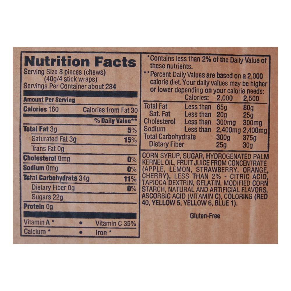 Starburst Fruit Chews Fun Size 25 lb bulk by Starburst (Image #3)