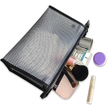 d86084de15db Amazon.com : Urberry Portbal Zipper Makeup Bag Travel Accessories ...