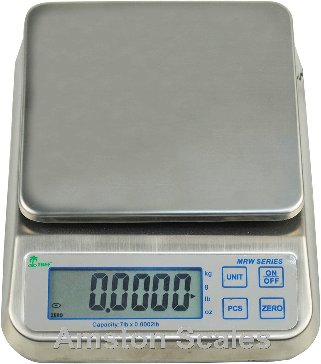 LW Measurements PORTION CONTROL FOOD KITCHEN 7 Lb WASHDOWN DIGITAL SCALE STAINLESS