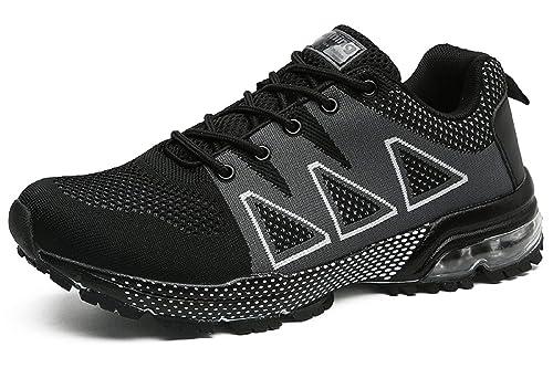tqgold Zapatillas de Running Hombre Mujer Zapatos para Correr Deporte Deportivas Sneakers: Amazon.es: Zapatos y complementos