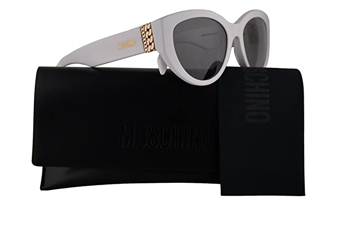 Moschino MOS012/S - Gafas de sol, color blanco con lente ...