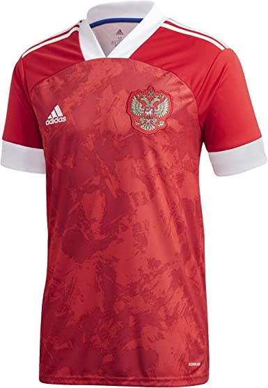 adidas RFU H JSY Camiseta Oficial 1ª Equipación Unión de Fútbol Rusa, Hombre: Amazon.es: Deportes y aire libre