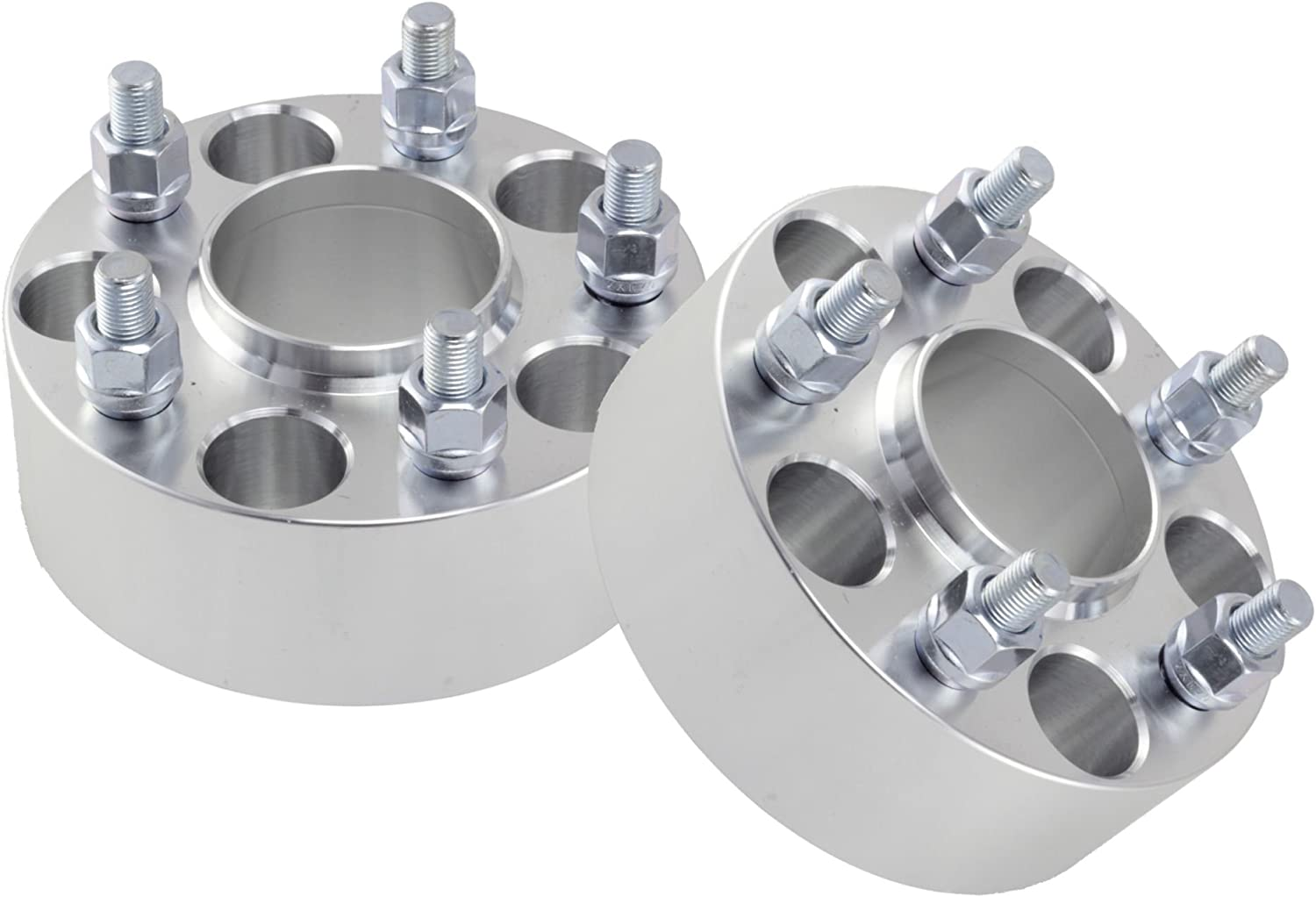 Wheel Spacers fits Chevy Camaro Corvette S10 Blazer GMC Sonoma S15 Jimmy 25mm 2pcs 1 inch Hubcentric 70.5 Hub