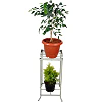 D&V Engineering® Multipurpose Water Dispenser Stand/Water can Stand/Metal Plant Stand/Flower Planter Stand for Home & Office DÉCOR (Height-2ft).