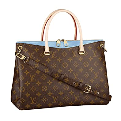3610732bea62 Louis Vuitton Monogram Canvas Pallas Bleu Ciel Handbag Article  M41467 Made  in France  Handbags  Amazon.com