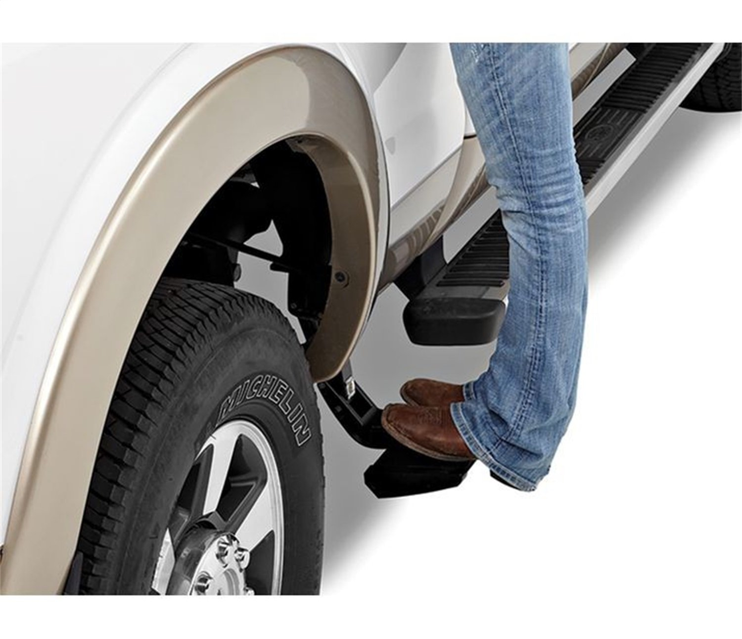 Bestop 75406-15 Side-Mounted Trekstep for 2009-2018 Dodge Ram 1500; fits Either Driver or Passenger Side only, 6.3' and 8.0' beds