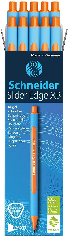 Schneider 152203 10 unidades, incluye capuch/ón, tinta azul Bol/ígrafo de punta redonda color azul