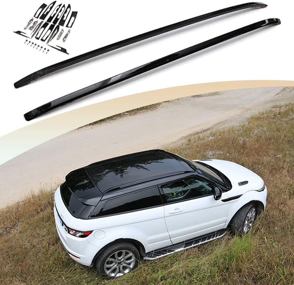 Snailfly Fit for Land Rover Range Rover Evoque 2011-2019 Roof Racks Cargo Side Rails